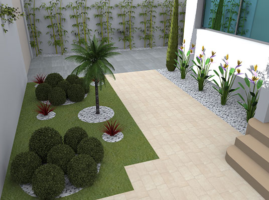 Tunisie garden services for Decoration jardin tunis